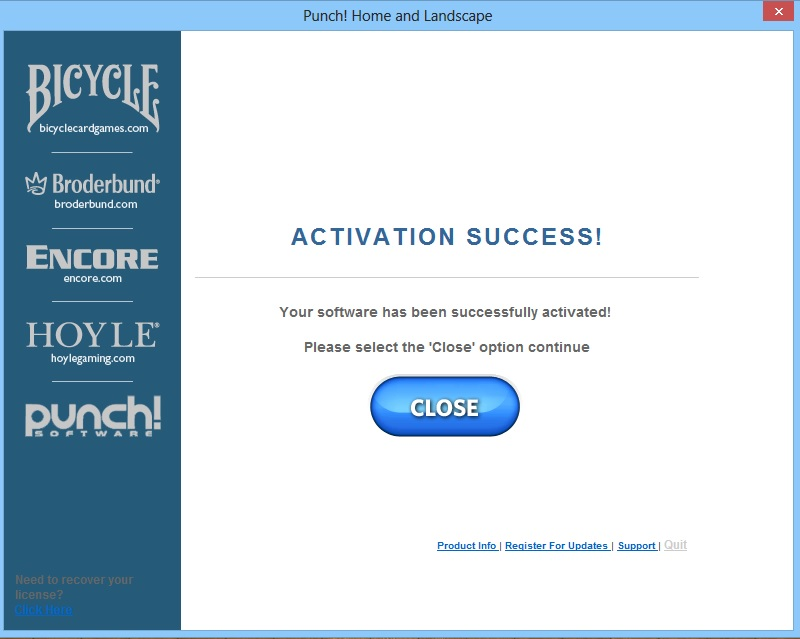 How do i register punch home and landscape design Punch home and landscape design premium